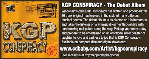 KGP CONSPIRACY - The Debut Album