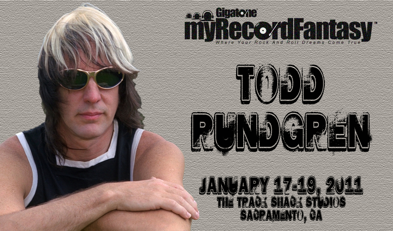 myRecordFantasy with Todd Rundgren